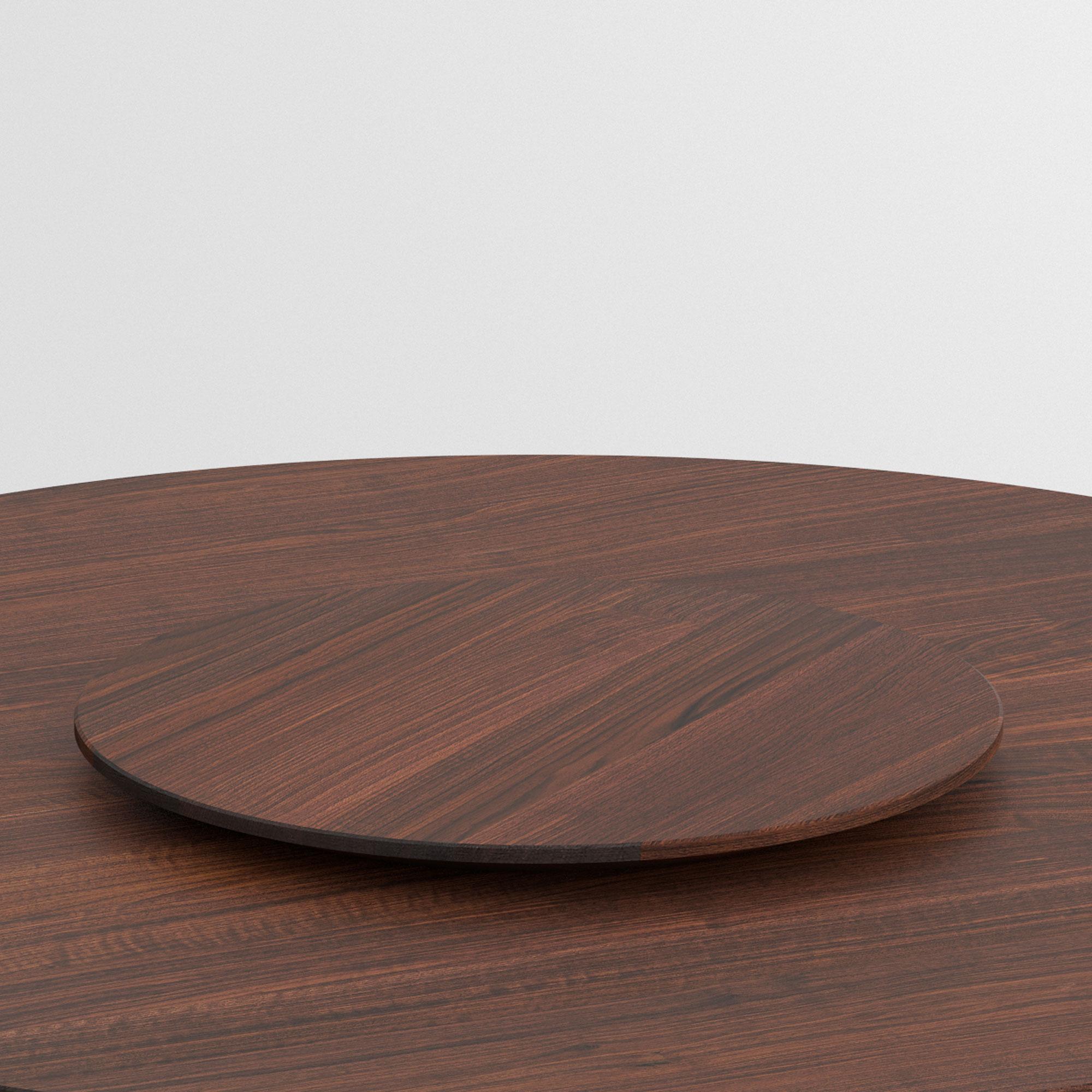 solid wood designer rotating tray lazy-suzy | vitamin design