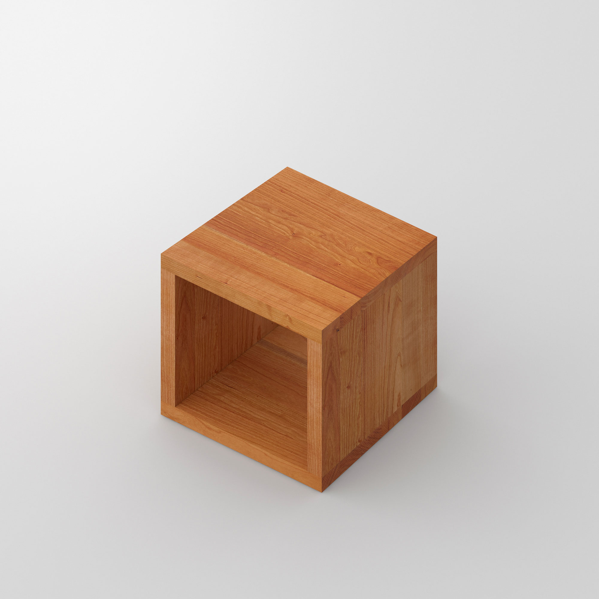 Multifunctional Stool MENA B 4 custom made in solid wood by vitamin design