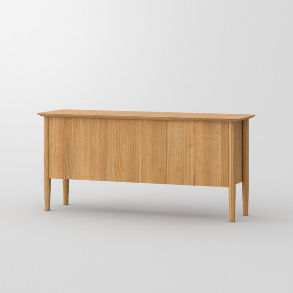 Designer Sideboard AETAS custom made in Solid oak, oiled by vitamin design