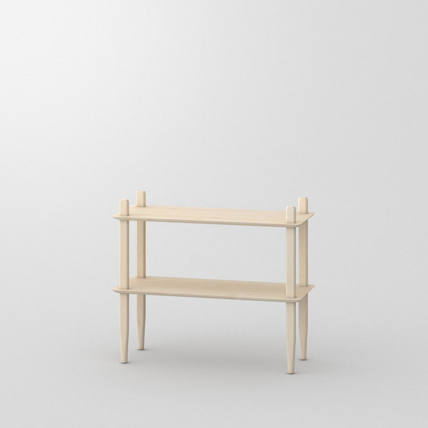 Design Shelf AETAS custom made in Solid American maple, chalked by vitamin design