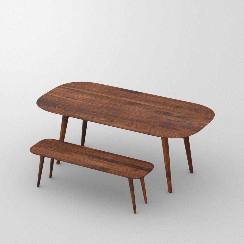 Attraktiv Esstisch Oval AMBIO Maßgefertigt Aus Amerikanischer Nussbaum Massiv, Geölt  Von Vitamin Design