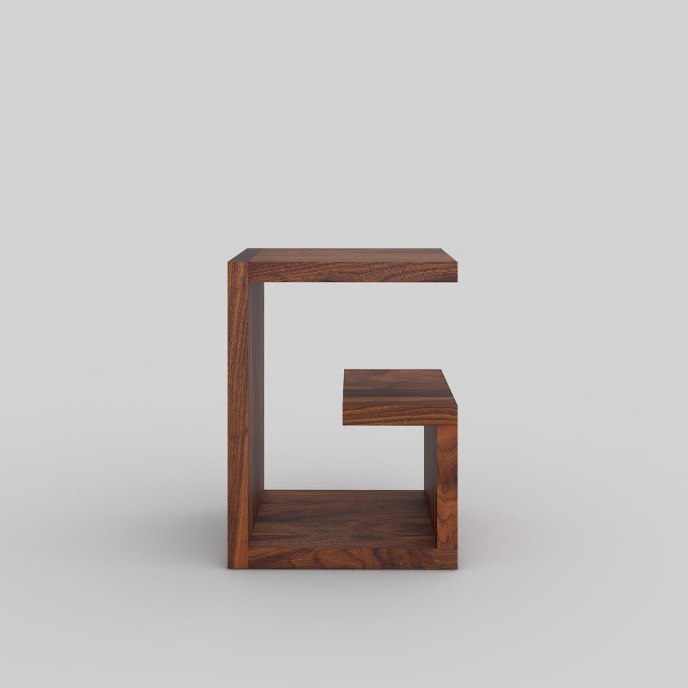 Design Massivholz Couchtisch MENA G 4 Maßgefertigt Aus Amerikanischer  Nussbaum Massiv, Geölt Von Vitamin Design