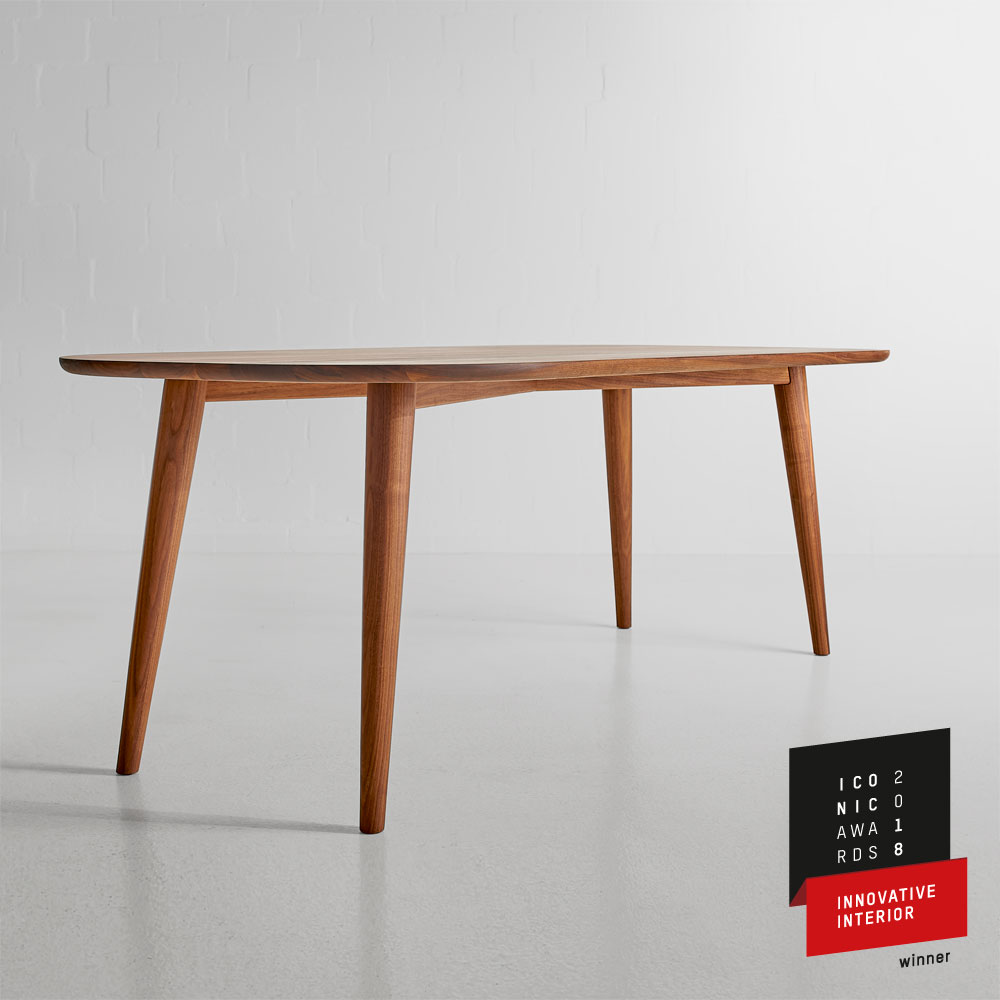 ICONIC AWARDS 2018 Innovative Interior Winner Table AMBIO