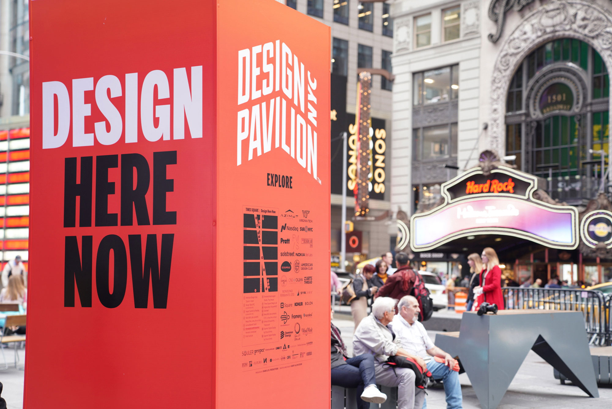 Design pavilion   design here now